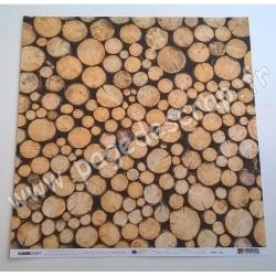 KAISERCRAFT MINT WISHES COLLECTION LOGS 30.5 cm x 30.5 cm