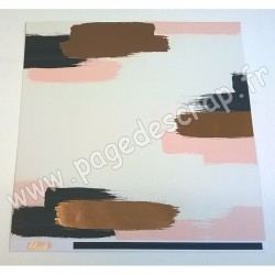 MY MIND'S EYE COLLECTION BLUSH SWATCH 30.5 cm x 30.5 cm