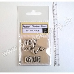 SWIRLCARDS TAMPON CLEAR PETITE NOTE