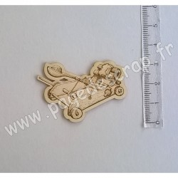 PDS SUJET BOIS FIN 1 mm CATAPULTE