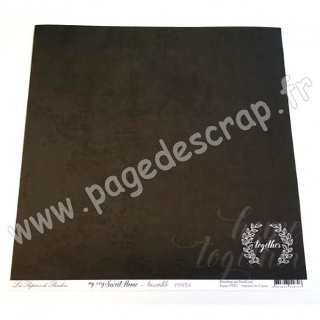 LES PAPIERS DE PANDORE MY VERY SWEET HOME - ENSEMBLE 30.5 cm x 30.5 cm
