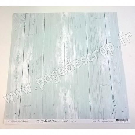 LES PAPIERS DE PANDORE MY VERY SWEET HOME - SWEET 30.5 cm x 30.5 cm