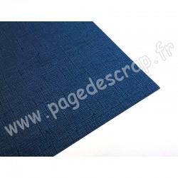 CARDSTOCK VINTAGE BLEU PETROLE 30.5 cm x 30.5 cm