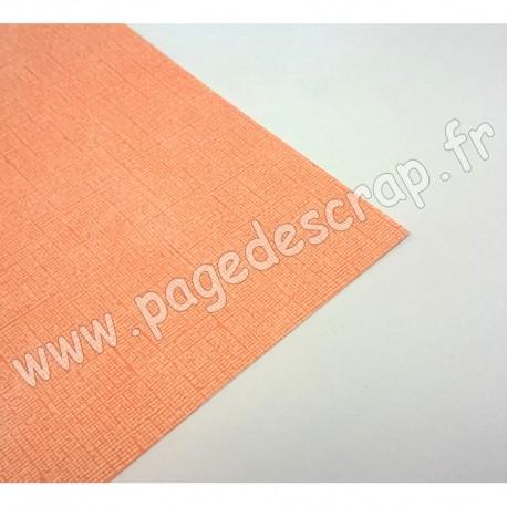 CARDSTOCK VINTAGE PECHE 30.5 cm x 30.5 cm