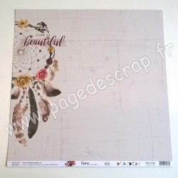 FLORILEGES DESIGN COLLECTION GYPSY FOREST 5   30.5 cm x 30.5 cm