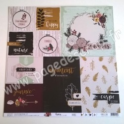FLORILEGES DESIGN COLLECTION GYPSY FOREST 2   30.5 cm x 30.5 cm