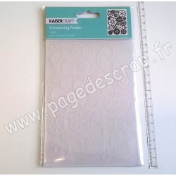 KAISER CRAFT EMBOSSING FOLDER COGS 150 mm x 106 mm