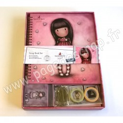 SANTORO GORJUSS COLOUR ME SCRAP BOOK SET