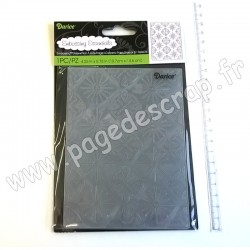 DARICE EMBOSSING TEMPLATE TRIBAL  10,8 cm x 14,6 cm