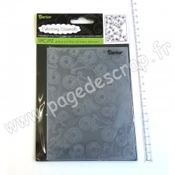DARICE EMBOSSING TEMPLATE BICYCLE 10,8 cm x 14,6 cm