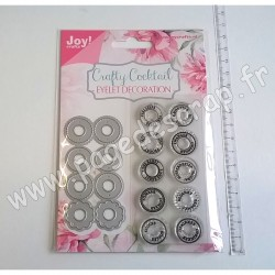 JOY!CRAFTS DIES ET TAMPONS CLEAR EYELET DECORATION
