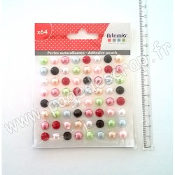ARTEMIO 64 DEMI- PERLES FASHIONISTA ADHESIVES