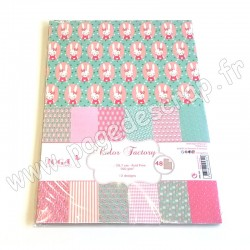 TOGA COLOR FACTORY A4  48 FEUILLES JOSEPHINE
