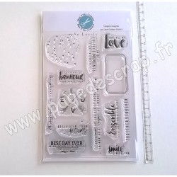 MES P'TITS CISEAUX COLLECTION SO LOVELY TAMPONS CLEAR
