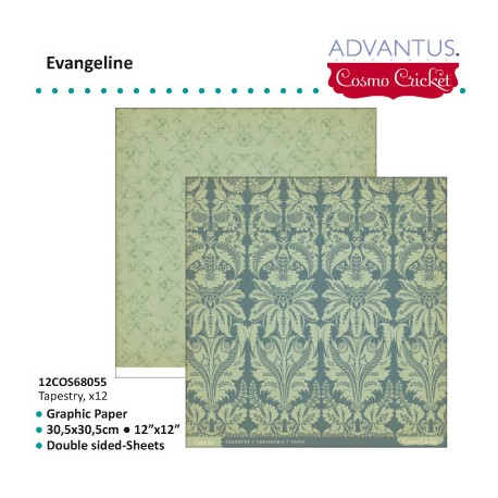 ADVANTUS COSMO CRICKET EVANGELINE PAPER TAPESTRY