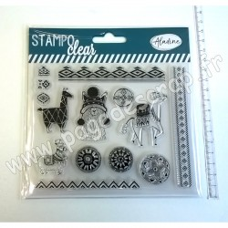 ALADINE STAMPO CLEAR ETHNIC LAMA