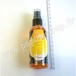 ALADINE IZINK DYE SPRAY JAUNE AURORE 80 ml