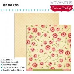 ADVANTUS COSMO SCRICKET TEA FOR TWO ROSE