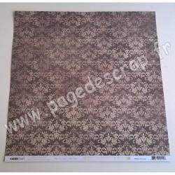 KAISERCRAFT PEN & INK COLLECTION WALLPAPER 30.5 cm x 30.5 cm