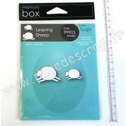 MEMORY BOX LEAPING SHEEP CRAFT DIE