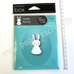 MEMORY BOX SWEET BUNNY CRAFT DIE