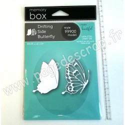 MEMORY BOX DRIFTING SIDE BUTTERFLY CRAFT DIE