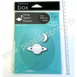 MEMORY BOX DEEP SPACE PLANETS CRAFT DIE