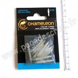 CHAMELEON ART PRODUCT MINES DE REMPLACEMENT PINCEAU x10