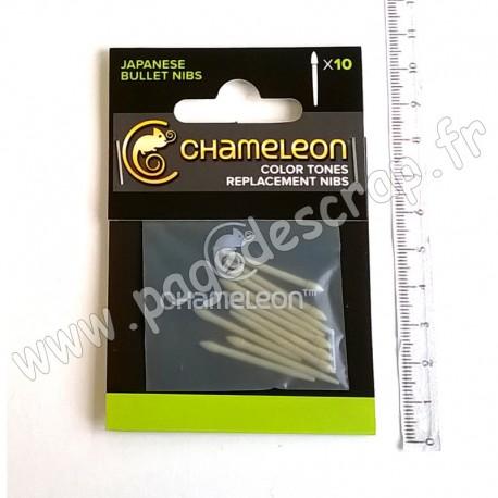CHAMELEON ART PRODUCT MINES DE REMPLACEMENT OGIVE x10