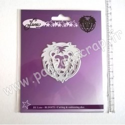 BY LENE CUTTING & EMBOSSING DIES LION