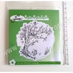 BY LENE CLEAR STAMPS ARBRE PRINTANIER
