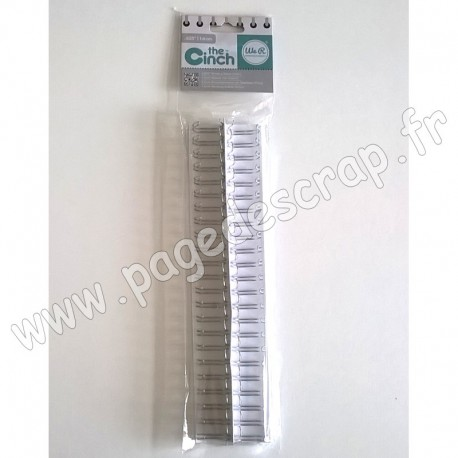 WE R MEMORY KEEPERS THE CINCH FILS POUR RELIURES 1,6 cm 30,5 cm ARGENT x2