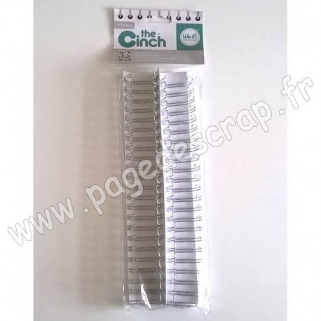 WE R MEMORY KEEPERS THE CINCH FILS POUR RELIURES 2,5 cm 30,5 cm ARGENT x2