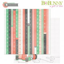 BO BUNNY PINCUSHION MEASUREMENTS PAPER