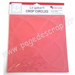 EASY SCRAP GABARIT CROP CIRCLES