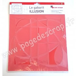 EASY SCRAP GABARIT ILLUSION