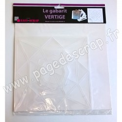 EASY SCRAP GABARIT VERTIGE + FICHE TECHNIQUE