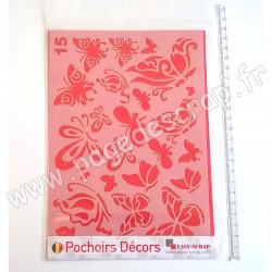 EASY SCRAP GABARIT DECOR PAPILLON
