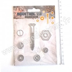 STUDIO LIGHT EMBOSSING DIE INDUSTRIAL 2.0 N°71