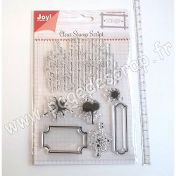 JOY!CRAFTS TAMPON CLEAR SCRIPT
