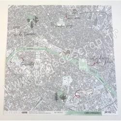 LES ATELIERS DE KARINE CORRESPONDANCES ITINERAIRE 30.5 cm x 30.5 cm