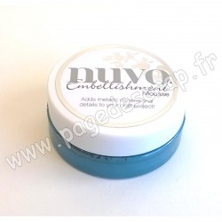 TONIC STUDIOS NUVO EMBELLISHMENT MOUSSE PACIFIC TEAL