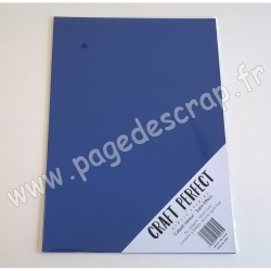 TONIC STUDIOS CRAFT PERFECT MIRROR CARD SATIN A4 x5 250g COBALT VELOUR