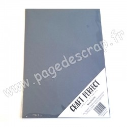 TONIC STUDIOS CRAFT PERFECT PEARLESCENT CARD A4 x5 250g NAVY DAZZLE