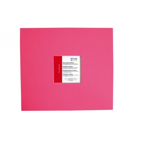 ALBUM 30X30 FUSCHIA