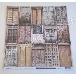 KAISERCRAFT GYPSY ROSE COLLECTION DOORS 30.5 cm x 30.5 cm