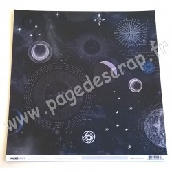KAISERCRAFT STARGAZER COLLECTION CONSTELLATION 30.5 cm x 30.5 cm