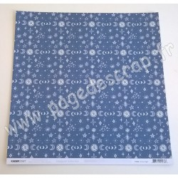 KAISERCRAFT STARGAZER COLLECTION STARRY NIGHT 30.5 cm x 30.5 cm