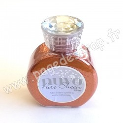 TONIC STUDIOS NUVO PURE SHEEN GLITTER 100ml SPICED APRICOT