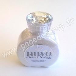 TONIC STUDIOS NUVO PURE SHEEN GLITTER 100ml ICE WHITE
